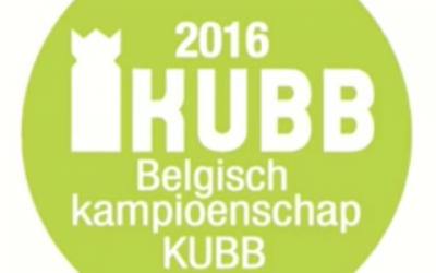 Belgisch kampioenschap Kubb 2016